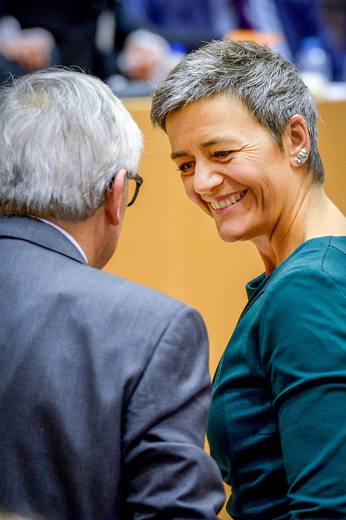 Exchange of views with Commissioner VESTAGER