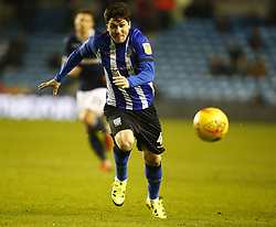 February 12, 2019 - London, England, United Kingdom - Sheffield Wednesday's Fernando Forestieri.during Sky Bet Championship match between Millwall and Sheffield Wednesday at The Den Ground, London on 12 Feb 2019. (Credit Image: © Action Foto Sport/NurPhoto via ZUMA Press)