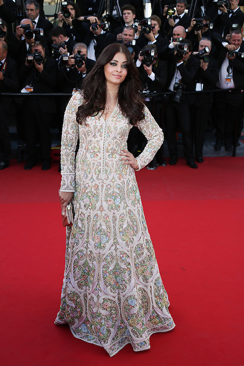 "Aishwarya Rai attends ""Blood Ties"" Red Carpet  during the 66th Annual Cannes Film Festival at the Palais des Festivals on May 20, 2013 in Cannes, France.."