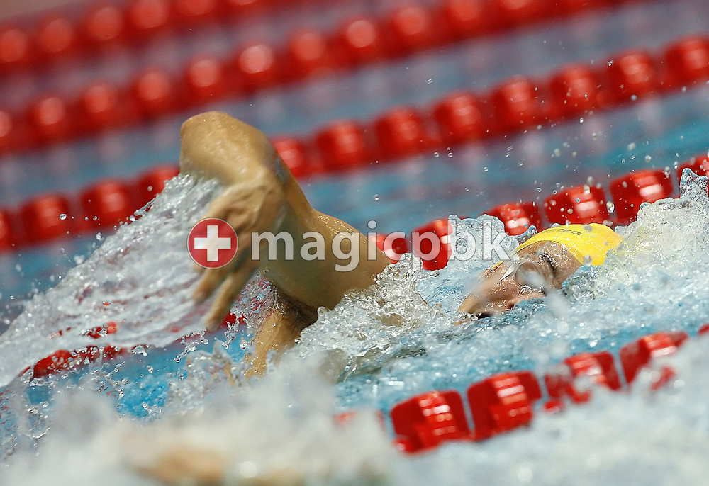 Nicholas FFROST of Australia competes in the  men's 200m freestyle heats in the Schwimm- und Sprunghalle Europa Sportpark at the Fina Swimming World Cup in Berlin, Germany, Sunday 16 November 2008. (Photo by Patrick B. Kraemer / MAGICPBK)