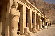 .Guards at Hatshepsut Temple at Deir al-Bahri, Egypt