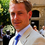 ITA/Siena/20100717 Wedding of soccerplayer Wesley Sneijder and tv host Yolanthe Cabau van Kasbergen, Mark van Eeuwen