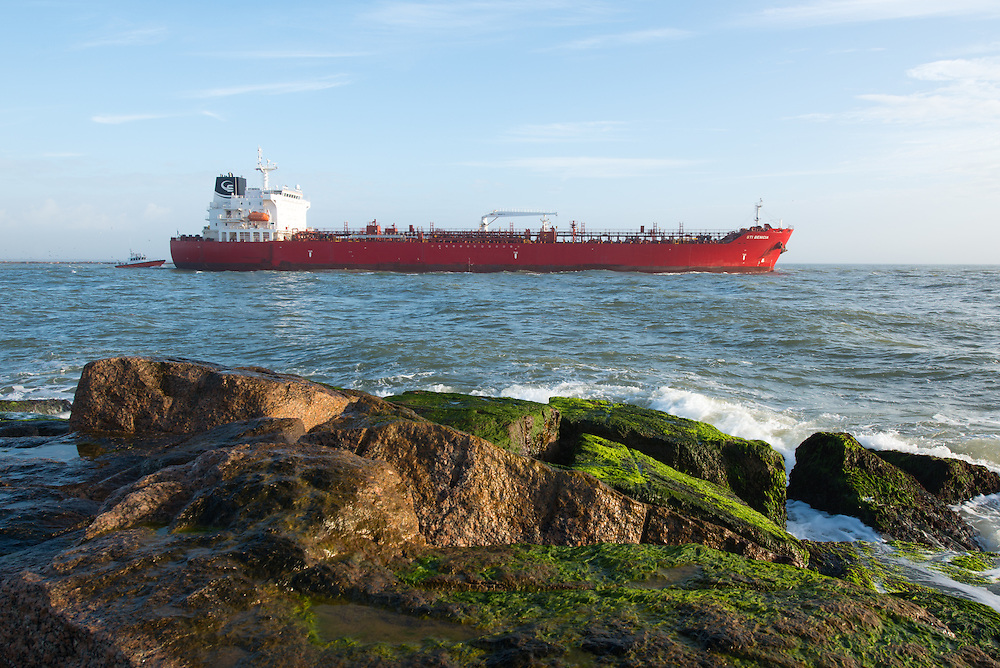 Oil Tanker on its way to Gulf of Mexico
