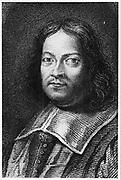 Pierre de Fermat (1595?-1665) French mathematician. From Alexandre Saverien 'Histoire des Philosophes Modernes', 2nd edition, Paris, 1762. Engraving.