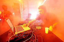 Do Santos no palco e-Planet do Planeta Atlântida 2014/RS, que acontece nos dias 07 e 08 de fevereiro de 2014, na SABA, em Atlântida. FOTO: Vinícius Costa/ Agência Preview