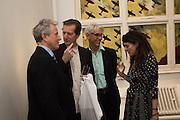DAVID JENKINS; NEAL BROWN; GERALDINE HARMSWORTH, Launch Harriet Vyner book on Robert Fraser. Lexington St. London. 12 May 2016