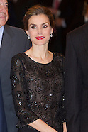 110514 Spanish Royals attended the 'Francisco Cerecedo' journalism awards