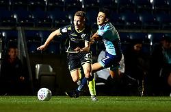 Luke Russe of Bristol Rovers goes past Luke O'Nien of Wycombe Wanderers - Mandatory by-line: Robbie Stephenson/JMP - 29/08/2017 - FOOTBALL - Adam's Park - High Wycombe, England - Wycombe Wanderers v Bristol Rovers - Checkatrade Trophy