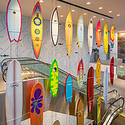 Westfield UTC, University Town Center, La Jolla, California, California Sheet Metal, California Surf Project, Surfboards, Classic Surfing, California Surf Culture, San Diego, Southern California , San Diego Architectural Photographer, Southern California Architectural Photographer