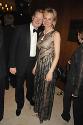 The EARL & COUNTESS OF DERBY at the 17th annual Cartier Racing Awards 2007 held at the Four Seasons Hotel, Hamilton Place, London on 14th November 2007.<br />