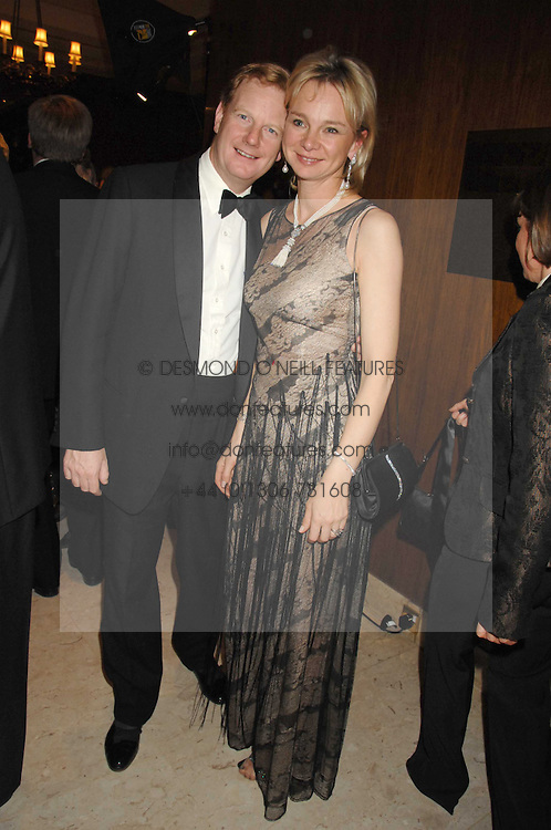 The EARL &amp; COUNTESS OF DERBY at the 17th annual Cartier Racing Awards 2007 held at the Four Seasons Hotel, Hamilton Place, London on 14th November 2007.<br />
