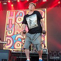 The Happy Mondays in concert at The Sunday Sessions Scotland, Dalkeith Country Park, Edinburgh, Great Britain 24th June 2018