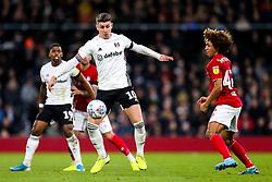 Tom Cairney of Fulham is challenged by Han-Noah Massengo of Bristol City - Rogan/JMP - 07/12/2019 - Craven Cottage - London, England - Fulham v Bristol City - Sky Bet Championship.