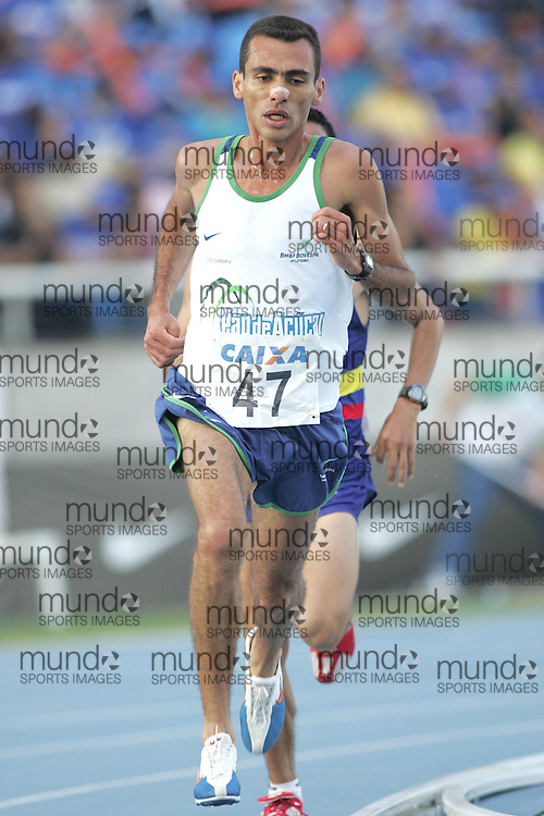 (Rio de Janeiro --- May 23, 2010) Marilson Gomes dos Santos (  BRA) competes in the 5000m at the 26th annual Grande Prêmio Internacional do Brasil Caixa de Atletismo (Brazil World Athletics Challenge International Grand Prix) at the João Havelange Olympic Stadium in Rio de Janeiro, Brazil.