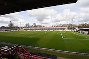The Checkatrade.com Stadium, Crawley, before the EFL Sky Bet League 2 match between Crawley Town and Doncaster Rovers at the Checkatrade.com Stadium, Crawley, England on 04 March 2017. Photo by David Charbit.