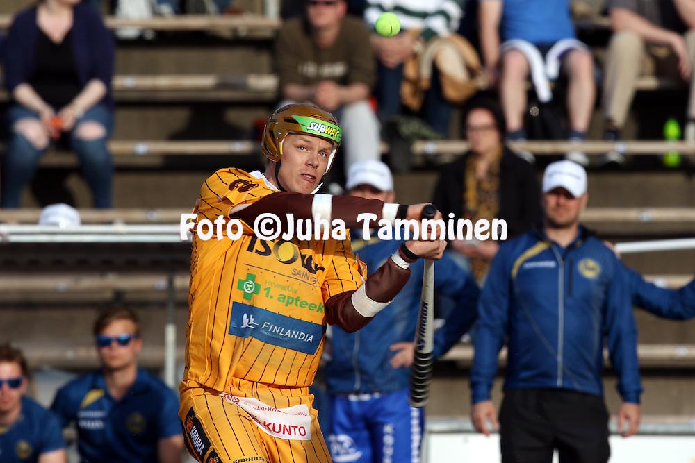 13.5.2016, Pihkala, Hyvink&auml;&auml;.<br /> Superpesis 2016.<br /> Hyvink&auml;&auml;n Tahko - Oulun Lippo.<br /> Teemu Nikkanen - Hyvink&auml;&auml;