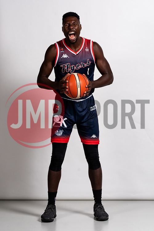 Daniel Edozie on the Bristol Flyers Media Day - Rogan/JMP - 13/09/2019 - BASKETBALL - Ashton Gate Stadium - Bristol, England.