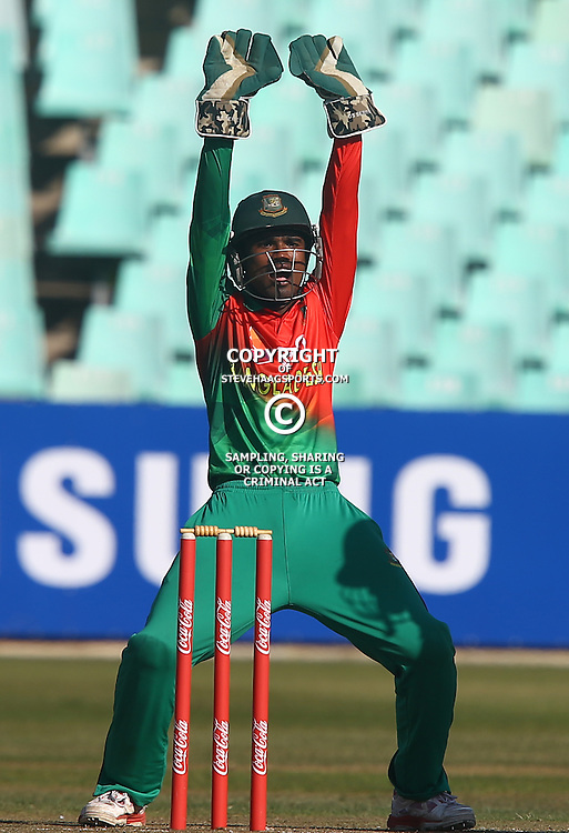 DURBAN, SOUTH AFRICA ,Sunday 19th July, Prosenjit Das of Bangladesh during the  South African under 19s vs the Bangladesh under 19s Cricket Series the last ODI match at Sahara Stadium Kingsmead Sunday 19th July Durban (Photo by Steve Haag)