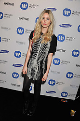 DIANA VICKERS at the Warner Music Group Post Brit Awards Party in Association with Samsung held at The Savoy, London on 20th February 2013.