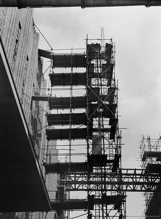 Construction of the New Guiness Factory, Park Royal, London, 1935