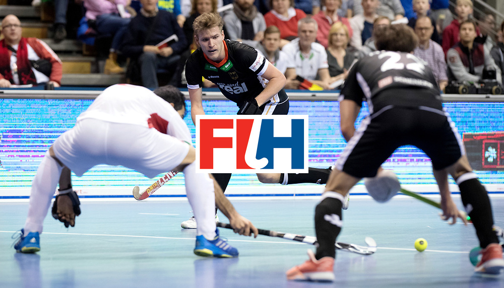 BERLIN - Indoor Hockey World Cup<br /> Semi-final 1: Germany - Iran<br /> foto: Ferdinand Weinke.<br /> WORLDSPORTPICS COPYRIGHT FRANK UIJLENBROEK