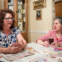 "Preciliana ""Prissy"" Schanefelt and her daughter Geraldine Arviso, both former presidents of the local Soroptimist International group at Schanefelt's house in Gallup, Tuesday, Oct. 30 2018. Schanefelt and Arviso gathered to discuss the decision to fold the Gallup group of Soroptimist International, a women's organization founded in 1921 that has been active in Gallup for decades."