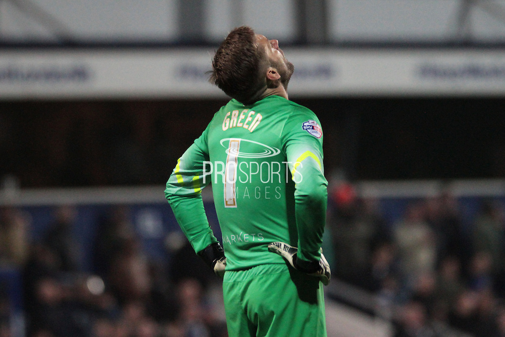 Queens Park Rangers goalkeeper Rob Green during the Sky Bet Championship match between Queens Park Rangers and Sheffield Wednesday at the Loftus Road Stadium, London, England on 20 October 2015. Photo by Jemma Phillips.