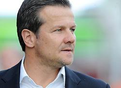 Swindon Town Manager, Mark Cooper - Photo mandatory by-line: Dougie Allward/JMP - Mobile: 07966 386802 - 11/05/2015 - SPORT - Football - Swindon - County Ground - Swindon Town v Sheffield United - Sky Bet League One - Play-Off