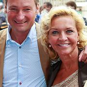NLD/Amsterdam/20110731 - Premiere circus Hurricane met Hans Klok, Mariska van Kolk en partner Edgar Peer