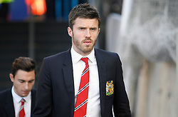 Michael Carrick of Manchester United before the match  - Mandatory byline: Jack Phillips/JMP - 07966386802 - 31/10/2015 - SPORT - FOOTBALL - London - Selhurst Park Stadium - Crystal Palace v Manchester United - Barclays Premier League