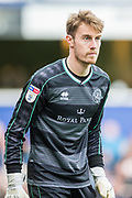 Joe Lumley (GK) (Queens Park Rangers) during the EFL Sky Bet Championship match between Queens Park Rangers and Stoke City at the Loftus Road Stadium, London, England on 9 March 2019.
