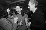 GILLIAN WEARING, VICTORIA SIDDALL and MICHAEL LANDY at the Whitechapel Gallery Art Icon 2015 Gala dinner supported by the Swarovski Foundation. The Banking Hall, Cornhill, London. 19 March 2015