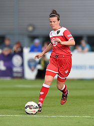 Bristol Academy's Hayley Ladd in action during the FA Women's Super League match between Bristol Academy Women and Manchester City Women at Stoke Gifford Stadium on 18 July 2015 in Bristol, England - Photo mandatory by-line: Paul Knight/JMP - Mobile: 07966 386802 - 18/07/2015 - SPORT - Football - Bristol - Stoke Gifford Stadium - Bristol Academy Women v Manchester City Women - FA Women's Super League