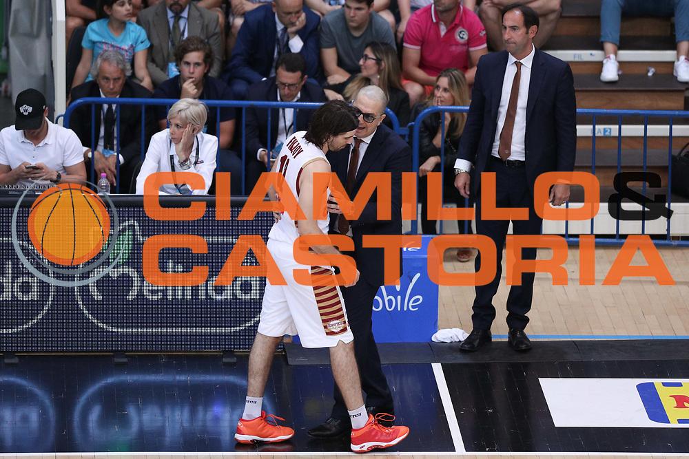 De Raffaele Walter e Filloy Ariel, Dolomiti Energia Trentino vs Umana Reyer Venezia LBA Serie A Playoff Finale gara 3 stagione 2016/2017 Pala Trento, Trento 14 giugno 2017