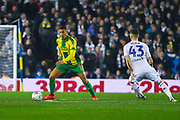 Jake Livermore of West Bromwich Albion (8) in action during the EFL Sky Bet Championship match between Leeds United and West Bromwich Albion at Elland Road, Leeds, England on 1 March 2019.