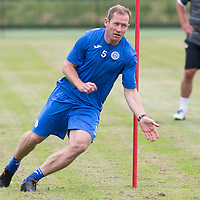 St Johnstone Pre-Season Training...07.07.14<br /> Frazer Wright<br /> Picture by Graeme Hart.<br /> Copyright Perthshire Picture Agency<br /> Tel: 01738 623350  Mobile: 07990 594431