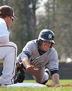 Rowan Univeristy Baseball vs The College of New Jersey in Glassboro, NJ on Thursday April 7, 2011. (photo / Mat Boyle)
