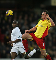 Photo: Marc Atkins.<br /> Watford v Bolton. The Barclays Premiership. 03/02/2007.