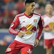 HARRISON, NEW JERSEY- November 06:  Gonzalo Veron #30 of New York Red Bulls in action during the New York Red Bulls Vs Montreal Impact MLS playoff match at Red Bull Arena, Harrison, New Jersey on November 06, 2016 in Harrison, New Jersey. (Photo by Tim Clayton/Corbis via Getty Images)