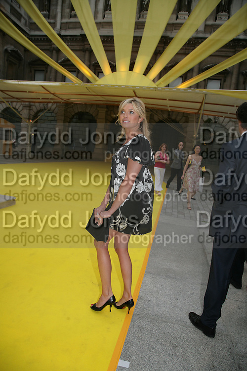 TINA HOBLEY, Royal  Academy of  Arts summer exhibition opening night. Royal academy. Piccadilly. London. 6 June 2007.  -DO NOT ARCHIVE-© Copyright Photograph by Dafydd Jones. 248 Clapham Rd. London SW9 0PZ. Tel 0207 820 0771. www.dafjones.com.