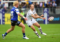 Chris Pennell Of Worcester Warriors  - Mandatory by-line: Alex James/JMP - 28/09/2019 - RUGBY - Recreation Ground - Bath, England - Bath Rugby v Worcester Warriors - Premiership Rugby Cup