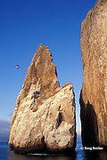 Kicker Rock, San Cristobal, Galapagos Islands, Ecuador, ( Eastern Pacific Ocean )