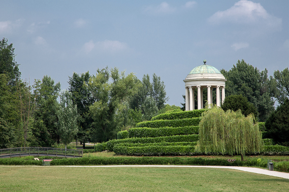 The rotunda in Querini Park, Vicenza, Italy