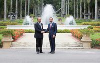 Rio De Janeiro, 20151117: Kronprins Haakon i Rio. Kronprinsen deltar på lunsj med Rios guvernør, Mr Luiz Fernando Pezao på Guanabara Palace. FOTO: TOM HANSEN