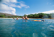 Hulupoe Bay, Manele, Lanai Hawaii..Hulupoe Bay, Manele, Lanai Hawaii.