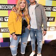 NLD/Amsterdam/20181105 - Lancering De Moschino TV x H&M-collectie, Isadee Jansen