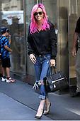 Jenny McCarthy was seen leaving Sirius Radio in New York City