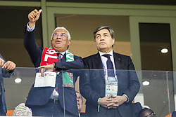 June 25, 2018 - Na - Saransk, 06/25/2018 - The national team of Portugal faced Iran today in the Group B match in the final round of the 2018 World Cup in Mordovia Arena. António Costa and Fernando Gomes. (Credit Image: © Atlantico Press via ZUMA Wire)