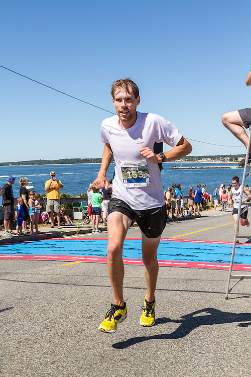 41st Falmouth Road Race: Chris Alger