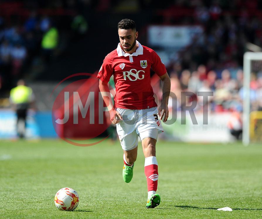 Bristol City's Derrick Williams - Photo mandatory by-line: Joe Meredith/JMP - Mobile: 07966 386802 - 18/04/2015 - SPORT - Football - Bristol - Ashton Gate - Bristol City v Coventry City - Sky Bet League One